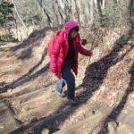 多峯主山で歩き方研究