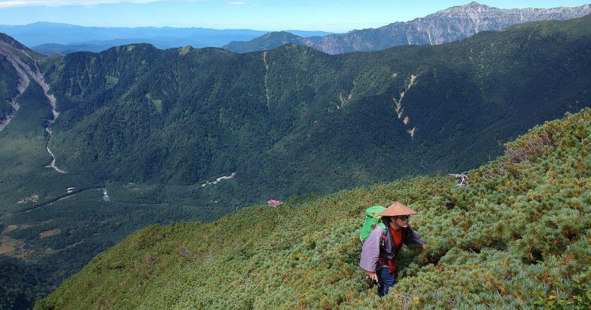六百山は穂高や上高地の展望台です