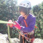 日和田山の岩場