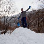 谷川岳で雪洞体験…できなかった