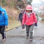 歩き方の基本 雨でもみっちり