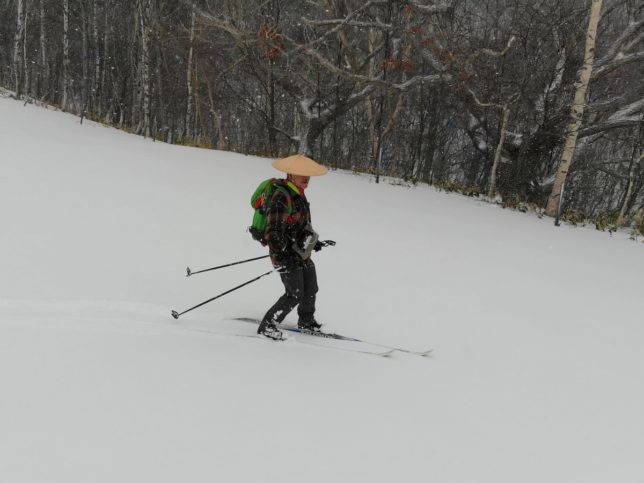 量は少ないけど雪質はバッチリでした
