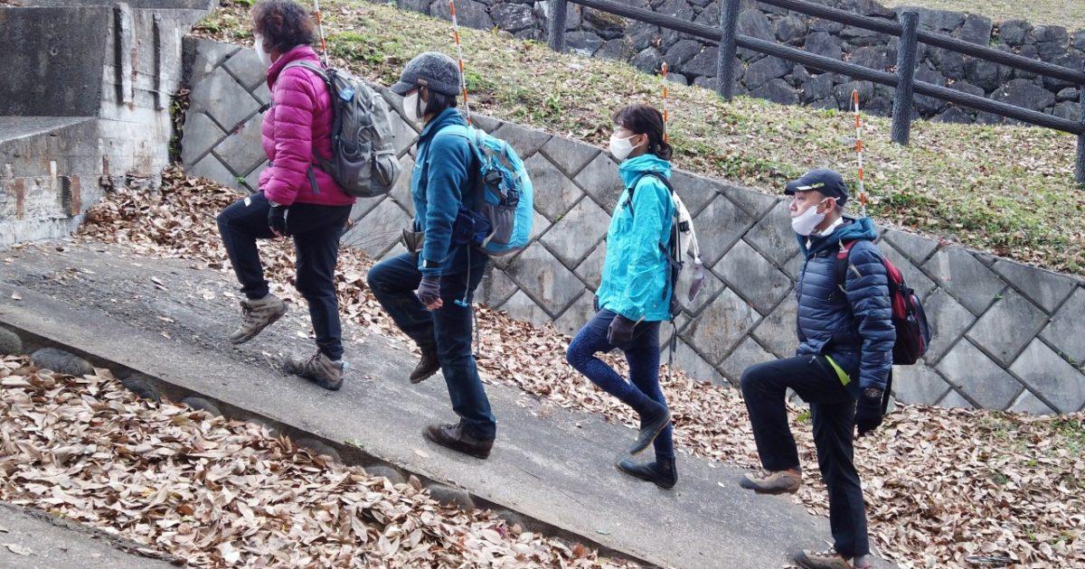 歩き方の実技試験
