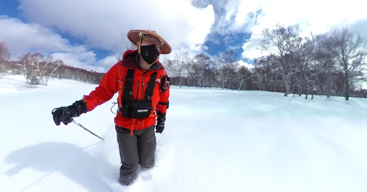 根子岳スキー 2021年1月9日
